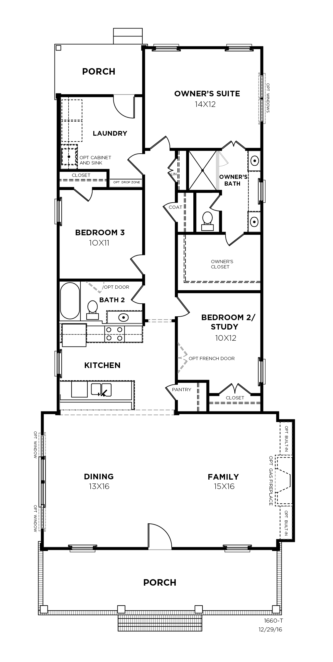 Broadleaf Plan a Saussy Burbank First Floor Plan near Charleston, SC