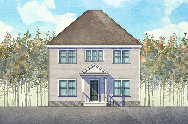 Rockingham II Plan by Dan Ryan Builders, New Homes in South Carolina