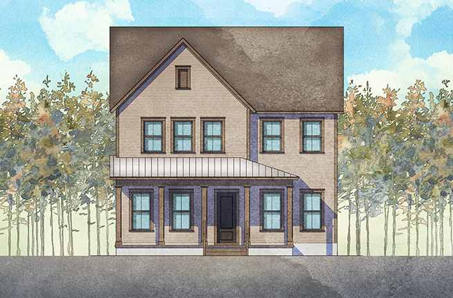 314 Woodgate Way | Rockingham II Plan by Dan Ryan Builders, New Homes in South Carolina