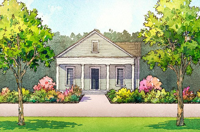 Broadleaf Plan by Saussy Burbank, New Homes in South Carolina