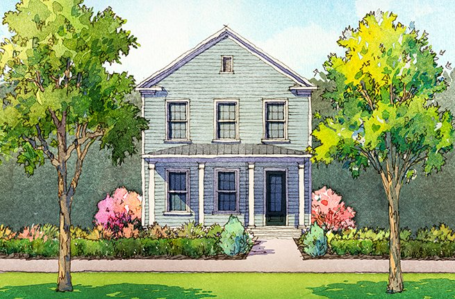 Hayward Plan by Sabal Homes, New Homes in Summerville