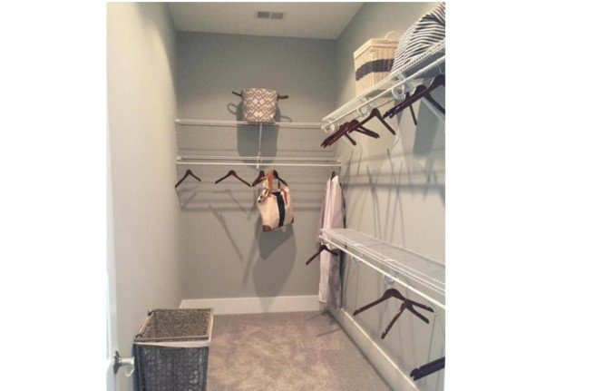 237 Bumble Way a FrontDoor Communities Closet View in Summerville, South Carolina