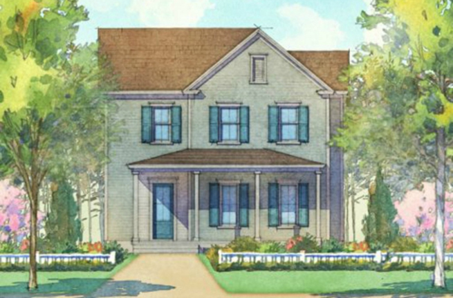 Acorn Plan - a Saussy Burbank House Drawing in Summerville, SC