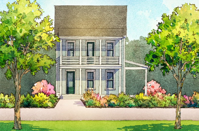 Conifer Plan by Saussy Burbank, New Homes in Summerville