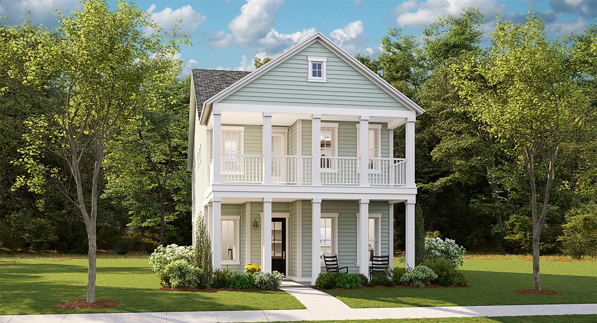 Elliott – The Village by Lennar, New Homes in South Carolina